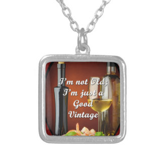 Necklace for Baby Boomer Wine Lovers