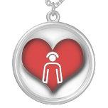 NECKLACE FOR NURSES - HEART / NURSE ICON