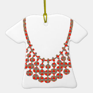 NECKLACE Jewel Graphic on GIFTS by NAVIN JOSHI Christmas Tree Ornament