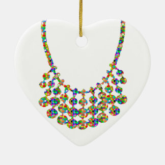 NECKLACE Jewel Home Decorations: by NAVIN JOSHI Christmas Tree Ornaments