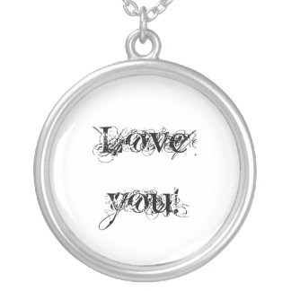 """Necklace """"Love you!"""""""