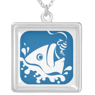 Necklace Lucky Gift Gifts Fishermans Fishing Fish