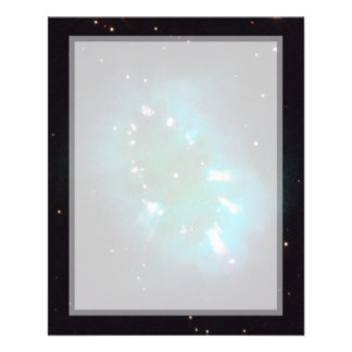 Necklace Nebula (Hubble Telescope) Custom Flyer