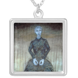 "Necklace - Oil Painting ""Grandma"" -MatthewFelixSun"