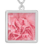 Necklace Pink Carnation Close Up