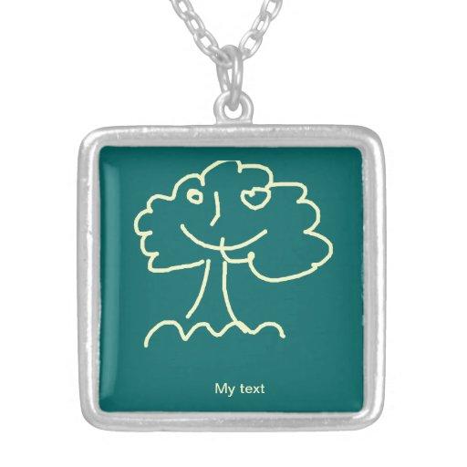 Necklace (square) medium