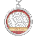Necklace Sterling Silver Custom Colour Printing