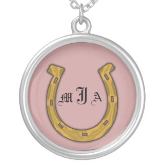 Necklace Template - Good Luck Horseshoe
