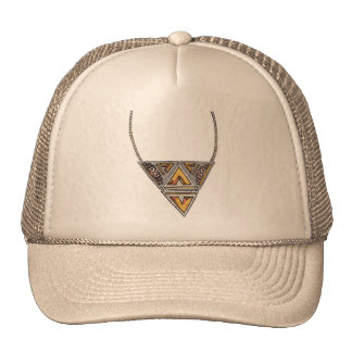 Necklace - Tribal Triangle Cap