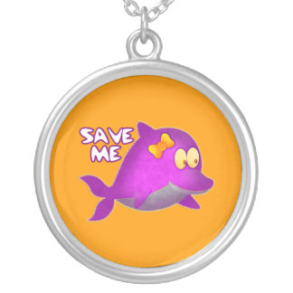 Necklace Whale Save Me