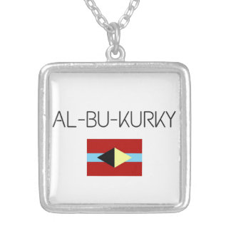 Necklace with AL-BU-KURKY symbol