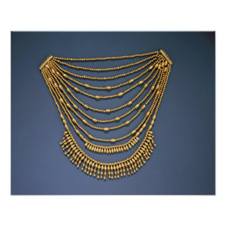 Necklace with bells poster