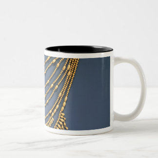 Necklace with bells Two-Tone coffee mug