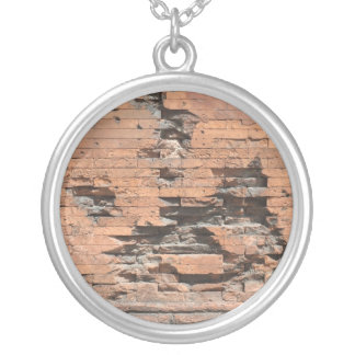 Necklace with Brick Wall Texture