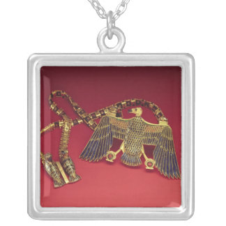 Necklace with vulture pendant