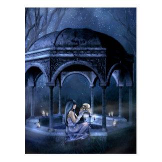 Necromancer Romance Postcard