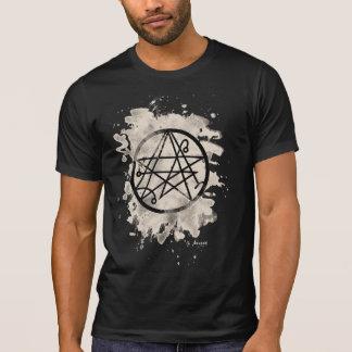 Necronomicon bleached (cream white) t-shirts