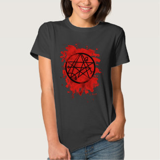 Necronomicon bleached (talk) t-shirt