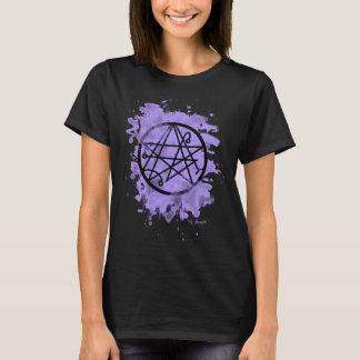 Necronomicon bleached (violet T-Shirt