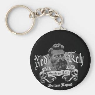 Ned Kelly - An Australian Legend Basic Round Button Key Ring