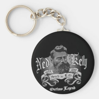 Ned Kelly - An Australian Legend Key Ring