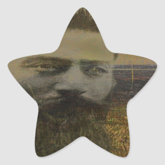 Ned Kelly Country Star Sticker