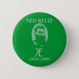 Ned Kelly Design 6 Cm Round Badge