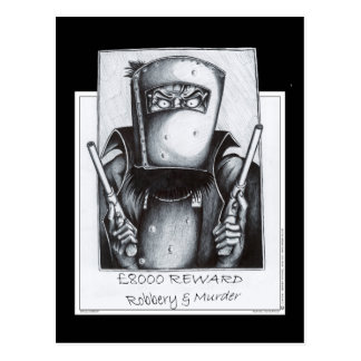 Ned Kelly: Wanted Postcard