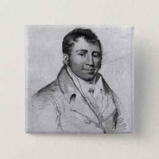 Ned Painter, engraved by Hopwood 15 Cm Square Badge