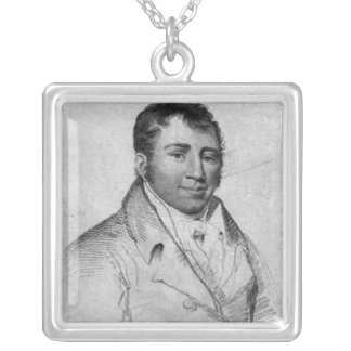 Ned Painter, engraved by Hopwood Silver Plated Necklace