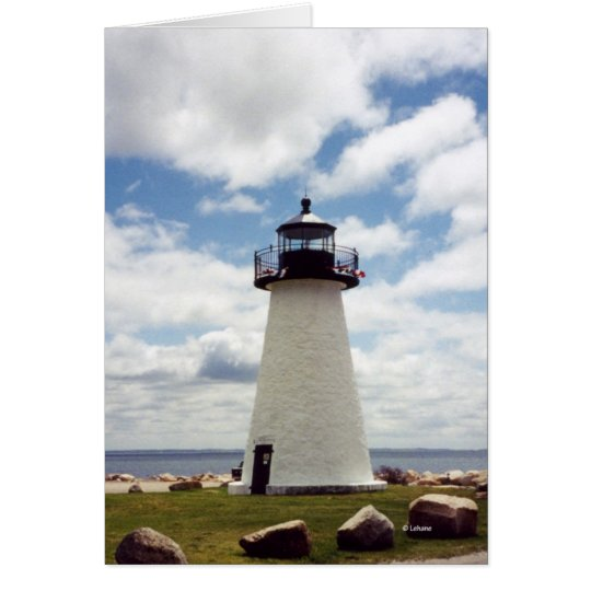 Ned's Light--thank you Card