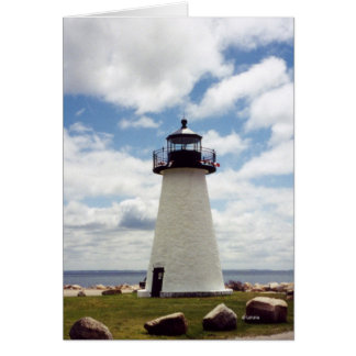 Ned's Light--thank you Note Card