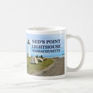 Ned's Point Lighthouse, Massachusetts Mug