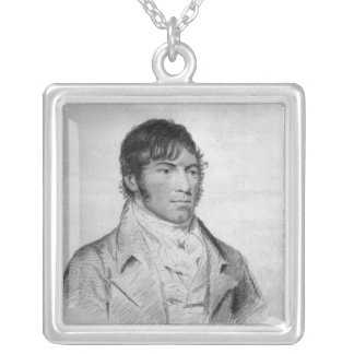 Ned Turner, engraved by Hopwood Silver Plated Necklace
