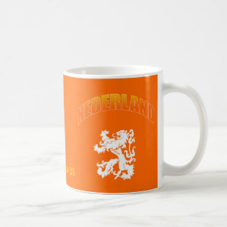 Nederland leeuw Voetbal wk Coffee Mug