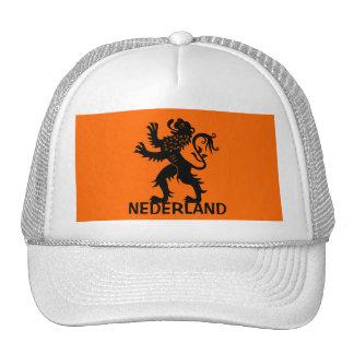 Nederland Lion Mesh Hats