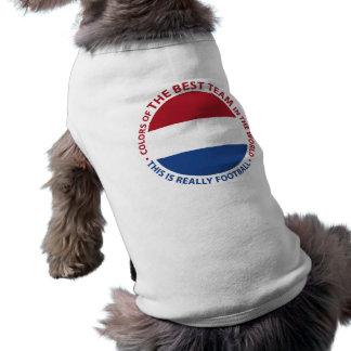 Nederland Netherlands Art Shield Sleeveless Dog Shirt