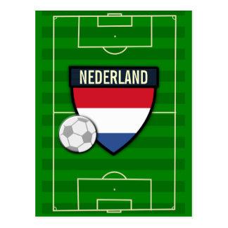 Nederland Netherlands Soccer Postcard