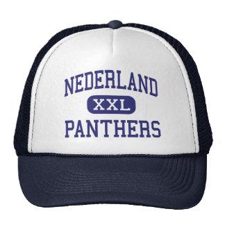 Nederland - Panthers - Middle - Nederland Colorado Mesh Hat