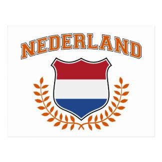 Nederland Postcard