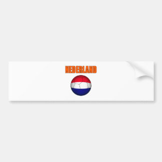 Nederland soccer t-shirts bumper sticker