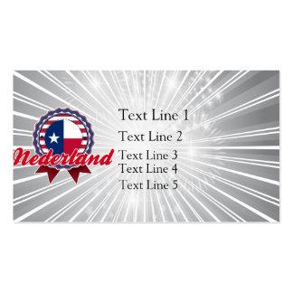 Nederland, TX Business Card Template