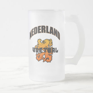 Nederland Voetbal 2010 Gifts Frosted Glass Mug