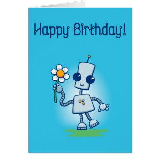 Ned's Flower Birthday Card