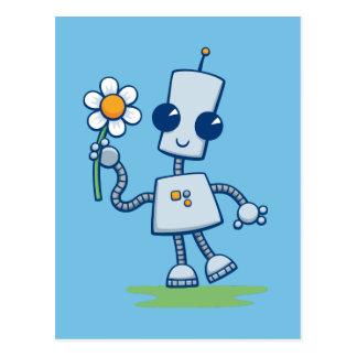 Ned's Flower Postcard