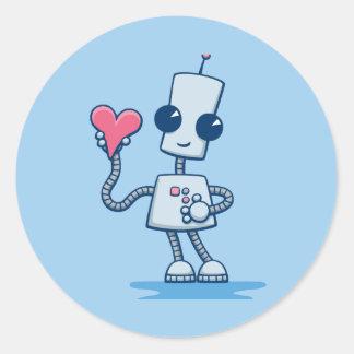 Ned's Heart Classic Round Sticker