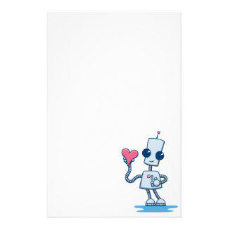 Ned's Heart Personalized Stationery