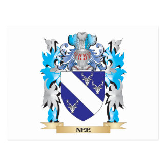 Nee Coat of Arms - Family Crest Post Cards