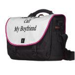 Need A Chef Call My Boyfriend Laptop Bag