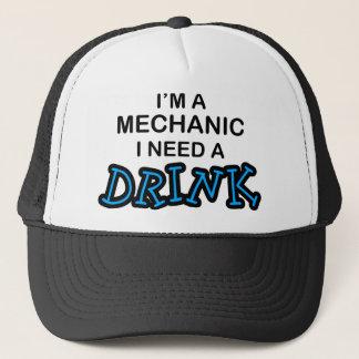 Need a Drink - Mechanic Trucker Hat